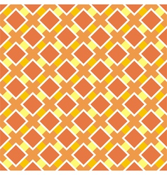 Sunny orange seamless background vector image vector image