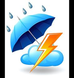 A stormy season vector