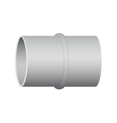 Air duct pipe vector