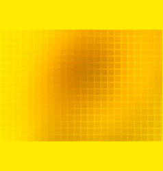Bright golden yellow abstract rounded mosaic vector