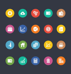 Glyphs Colored Icons 16 vector