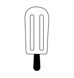 ice cream with sprinkles icon image vector image