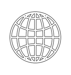 Isolated travel passport vector