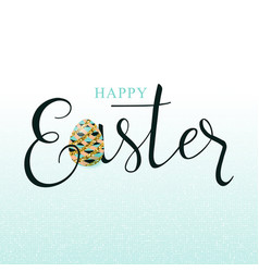 luxury happy easter vector image