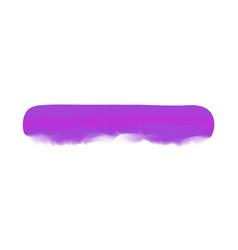 purple stripe painted in watercolor on clean vector image