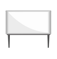 Screen on stand vector