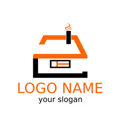 stylized under the number two logotype of the vector image