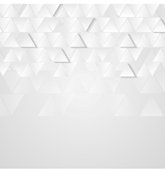 Light grey technology geometric background vector image vector image