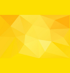 yellow warm sunny background vector image vector image