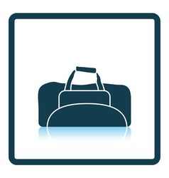 Icon of Fitness bag vector image