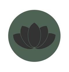 lotus flower symbol vector image