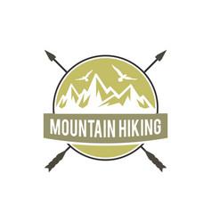 adventure badges logo design vector image