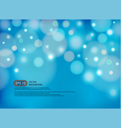 blue blur abstract background with light in modern vector image vector image