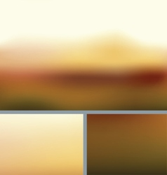 Blurred abstract nature background rocky fall vector