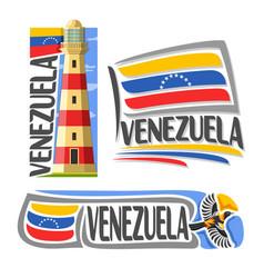logo venezuela vector image
