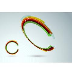 Modern web ring vector