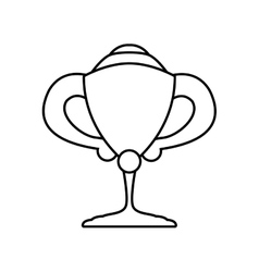 Trophy icon Winner concept graphic vector