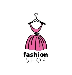 logo clothing vector image vector image