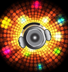 music festival and party vector image