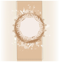 Lace frames vector image vector image