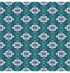 lace grid ornament vector image vector image