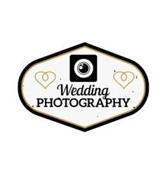 Photographer icon logo vector image
