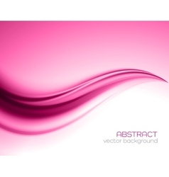 Beautiful Pink Satin Drapery Background vector image vector image