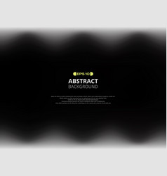Abstract black gradient dimension background vector