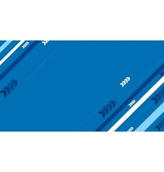Blue tech background with diagonal stripes vector