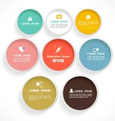 Circle color vector