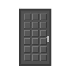 Door and front symbol set vector