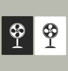 fan - icon vector image
