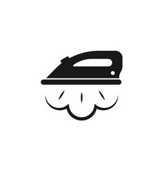 ironing icon ironing linear symbol design from vector image