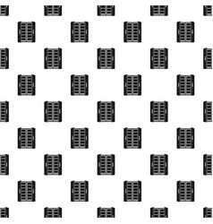 Open fridge pattern seamless vector