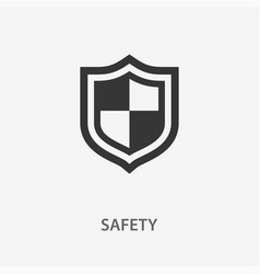 safety icon for graphic and vector image