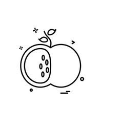 school icon design vector image
