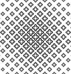 Seamless monochrome double ellipse pattern vector