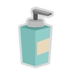 soap dispenser icon vector image