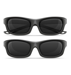 sunglasses for men in plastic frames stock vector image