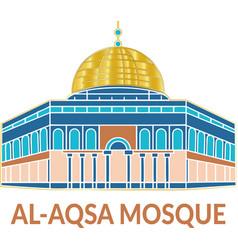 Al-aqsa mosque vector
