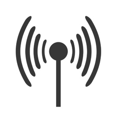 Antenna with signal waves vector
