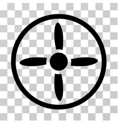 Drone screw icon vector