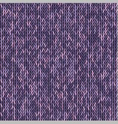 knit texture melange pink purple color seamless vector image