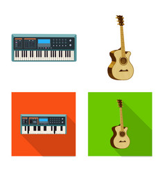 music and tune sign vector image