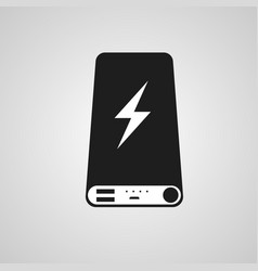 power bank icon vector image