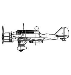 Pzl43 karas vector