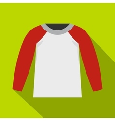 Sports jacket icon flat style vector