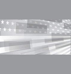 usa independence day abstract background vector image