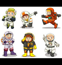 Young explorers vector