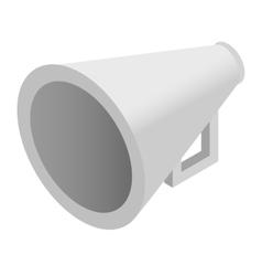 Megaphone isometric 3d icon vector image
